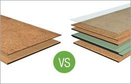 APC Cork Floating vs Adhered Tiles